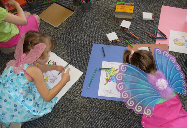 fairy tale project, children, image