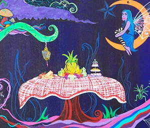 art, acrylic on canvas, jacklyn laflamme, fairy tale, image