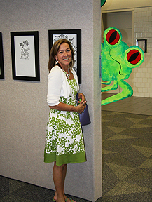 art, sculpture, metal, frog, fairy tale, jacklyn laflamme, image