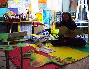 art, sculpture, metal, frog, fairy tale, jacklyn laflamme, image